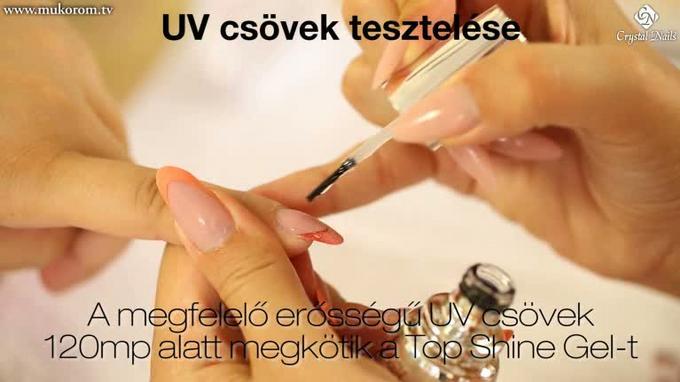 UV csövek tesztelése és cseréje