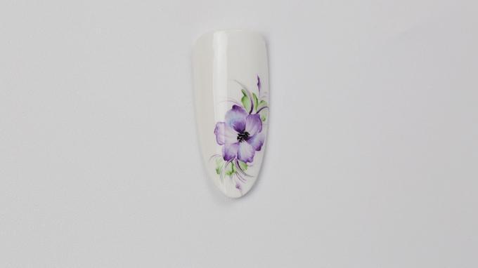 Vétek Niki gyönyörű Art Gel virága
