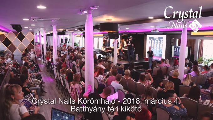 Crystal Nails Körömhajó 2018 Tavasz