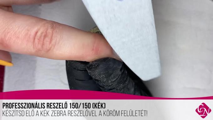 Doviscsák Dóra CrystaLac töltés Compact Base Gel Cover Pink-kel