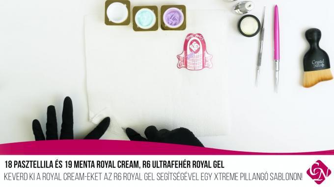 Doviscsák Dóra Díszítés Royal Cream-mel