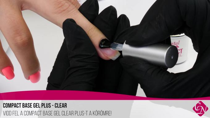 ÚJDONSÁG - Compact Base Gel PLUS Clear